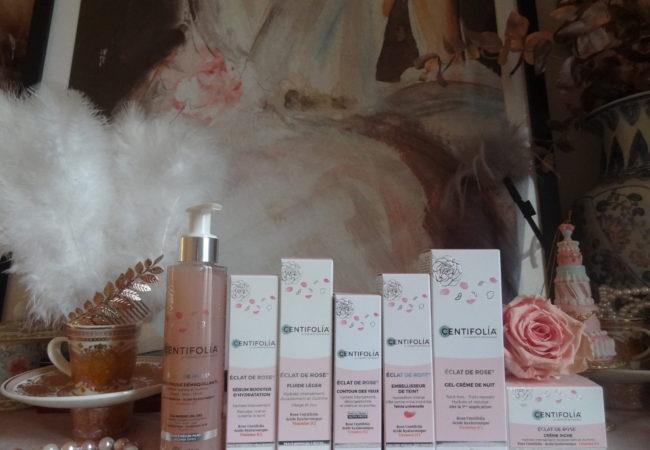 Centifolia – Éclat de Rose – une gamme de cosmétiques bio pour un teint lumineux
