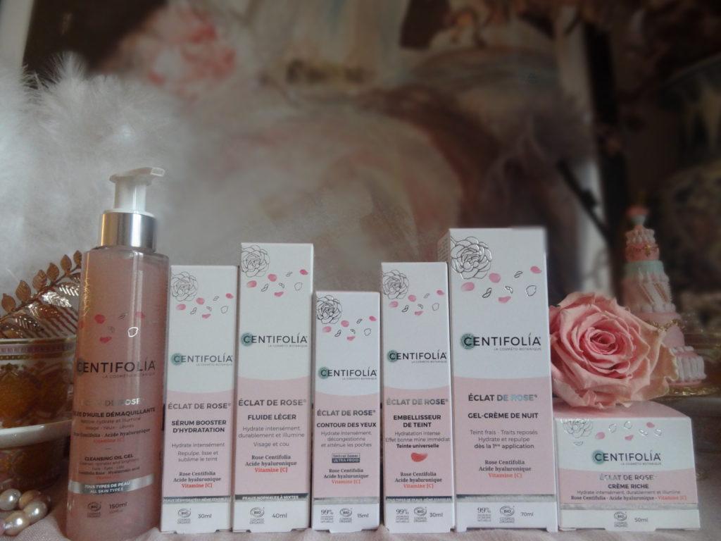 Centifolia - Eclat de rose - une gamme de cosmétiques bio pour un teint frais