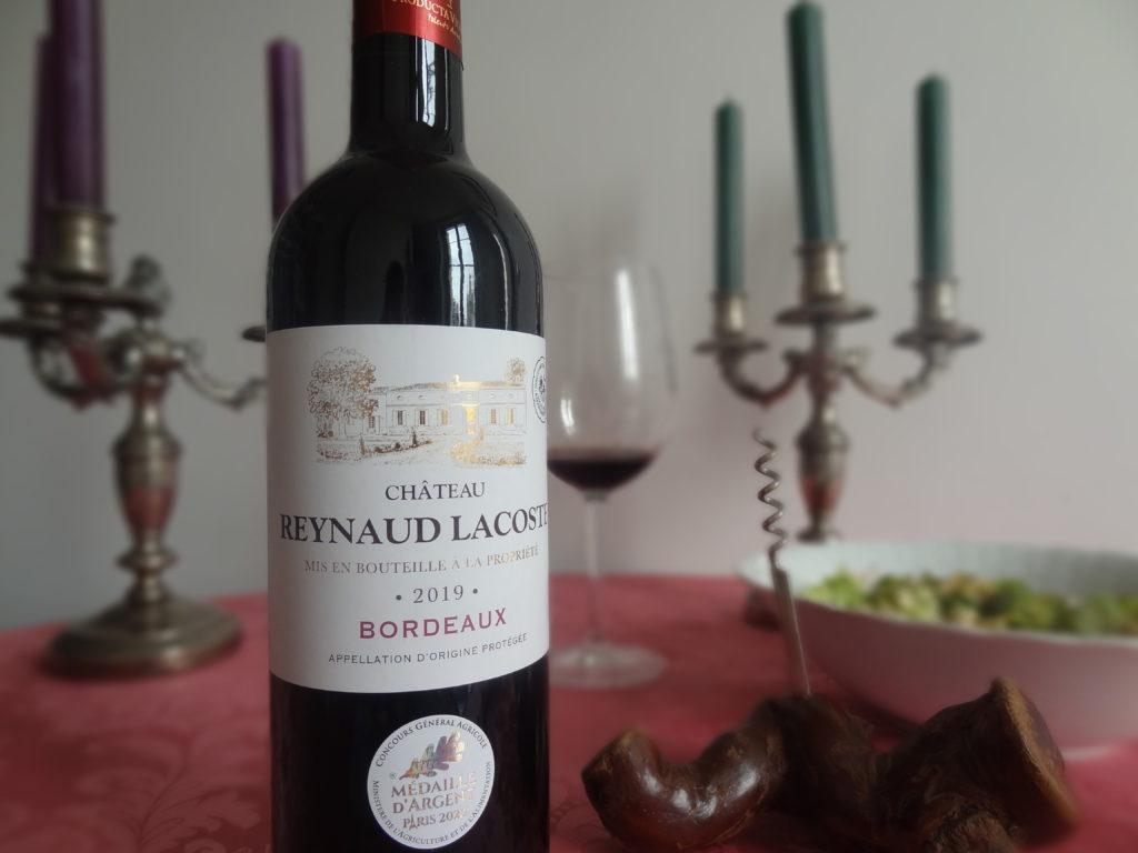 Château Reynaud Lacoste 2019 - un Bordeaux de caractère