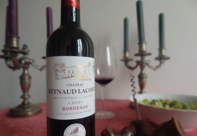 Château Reynaud Lacoste 2019 – un Bordeaux de caractère