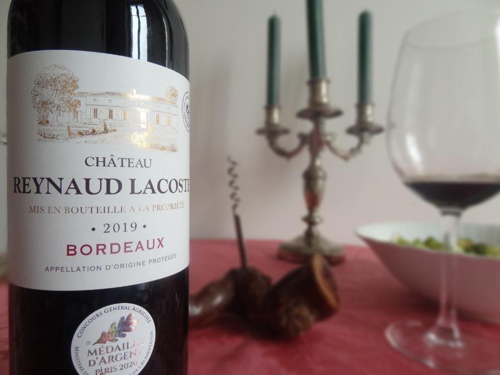 Un vin rouge Producta Vignobles