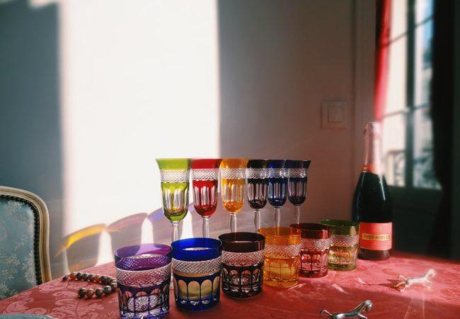 Vessière Cristaux – un art de la table raffiné – flûtes et verres en cristal