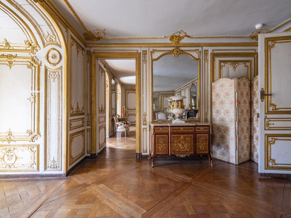 Lancement du chantier de restauration de l'appartement de Madame Du Barry