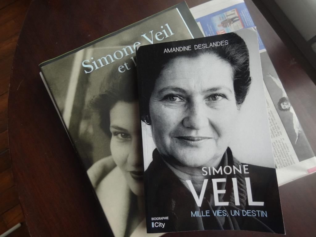 Simone Veil mille vies, un destin – éditions Biographie City – Amandine Deslandes