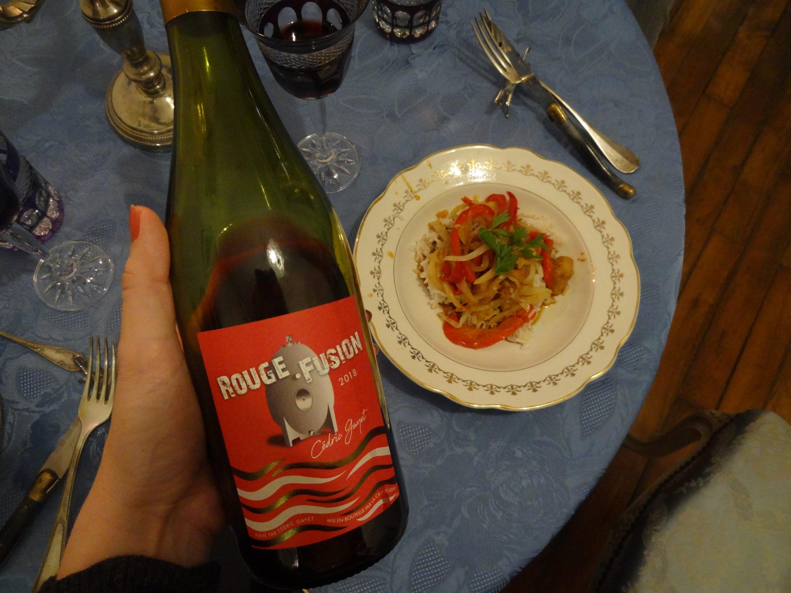 La Cave de Lugny - Rouge Fusion – la rencontre exquise du Pinot Noir et du Gamay