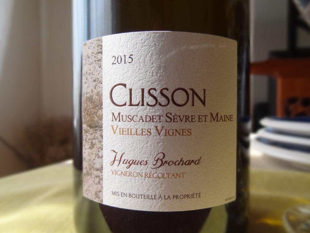 Clisson Muscadet Sèvre et Maine vieille vignes d'Hugues Brochard