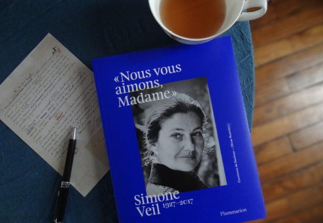 """""""Nous vous aimons Madame """" – Simone Veil 1927 – 2017 – éditions Flammarion"""