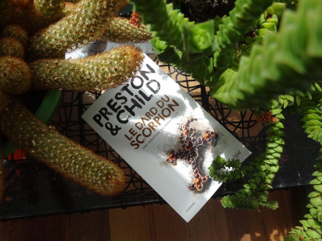 Le Dard du Scorpion - éditions l'Archipel - Preston & Child