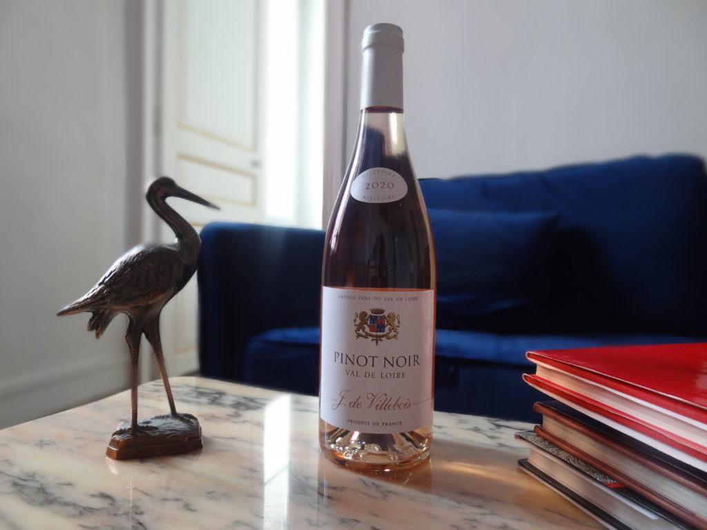 Domaine J. de Villebois - Pinot noir rosé 2020