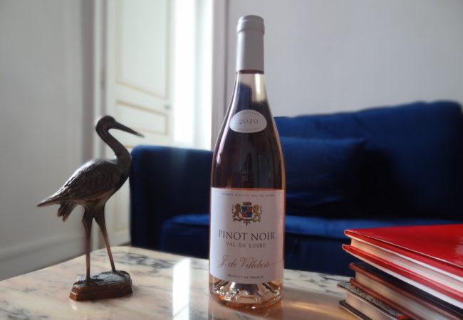 Domaine J. de Villebois – Pinot noir rosé 2020