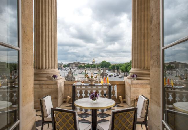 Hotel de Crillon – La terrasse Marie-Antoinette