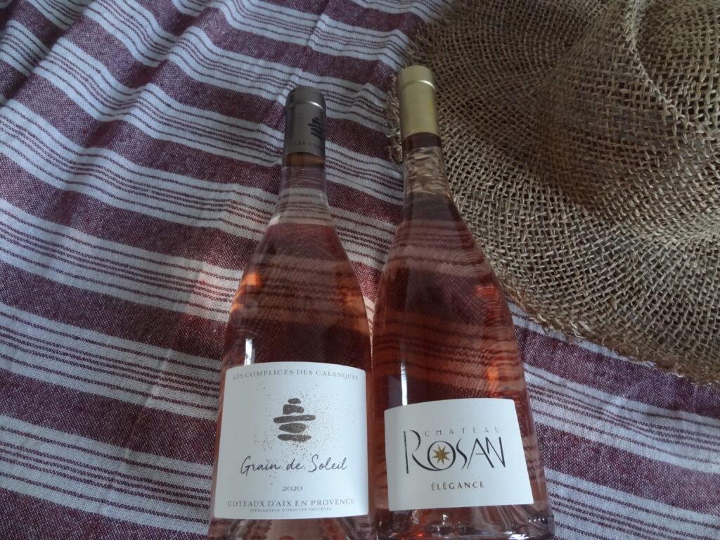 Les rosés d'été - Côte de Provence et Coteaux d'Aix en Provence