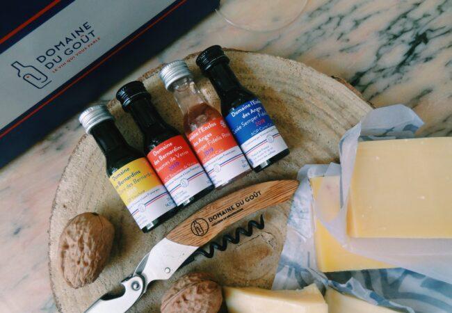 Domaine du Goût – la box de vin Made in France accompagnée de 4 fromages affinés – fête des Pères
