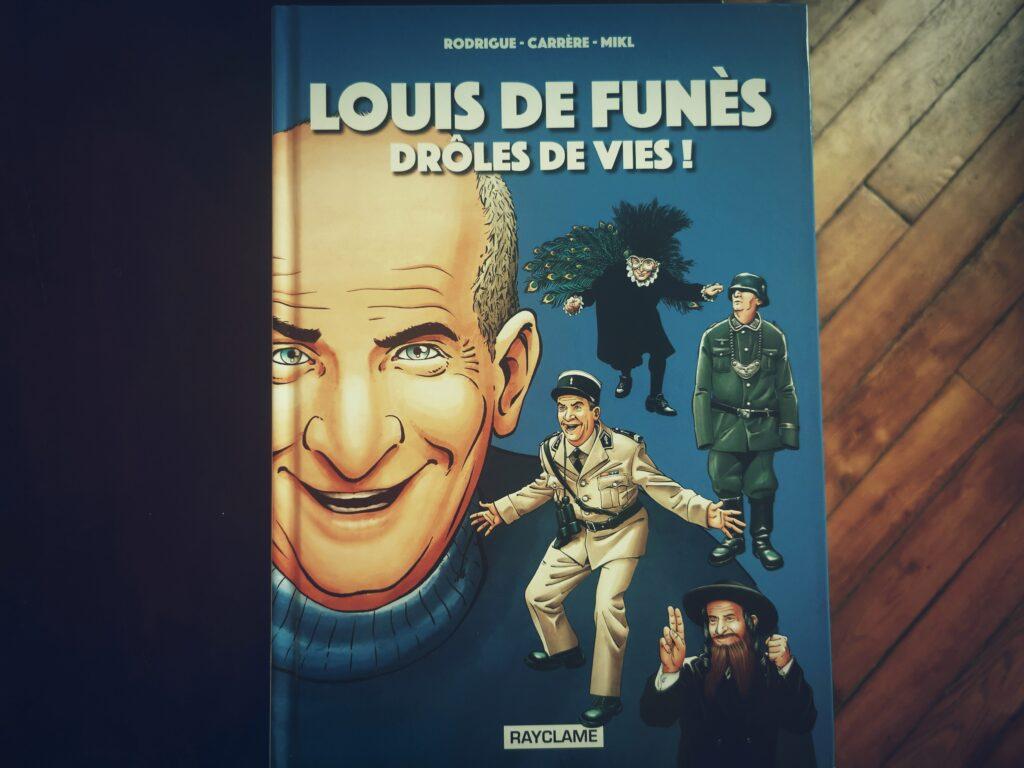La vie de Louis de Funès en BD - Drôles de Vies ! - ville de Saint-Raphaël et Musée Louis de Funès