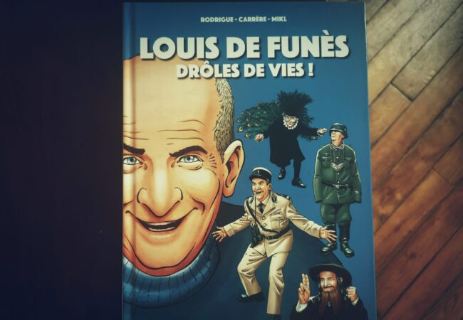 La vie de Louis de Funès en BD – Drôles de Vies ! – ville de Saint-Raphaël et Musée Louis de Funès