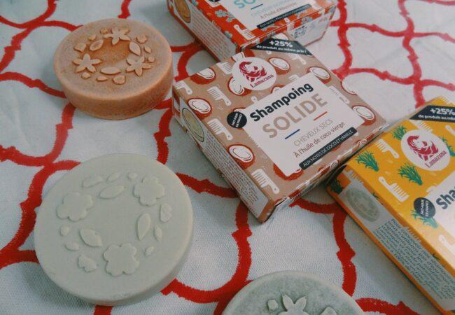 Lamazuna – shampoings solides – nouveau format pour une mousse plus généreuse