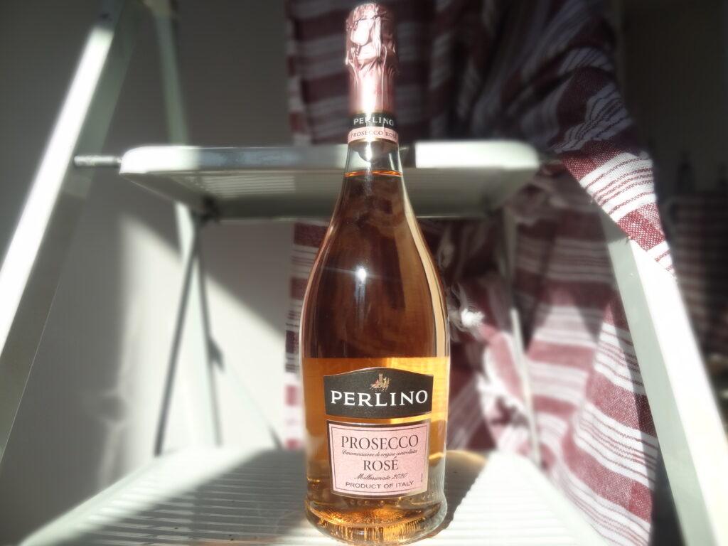 Perlino - le Prosecco Rosé - boisson de l'été