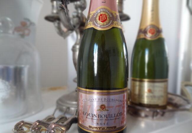 Louis Bouillot – Crémants de Bourgogne rosé et blanc – format demi-bouteille