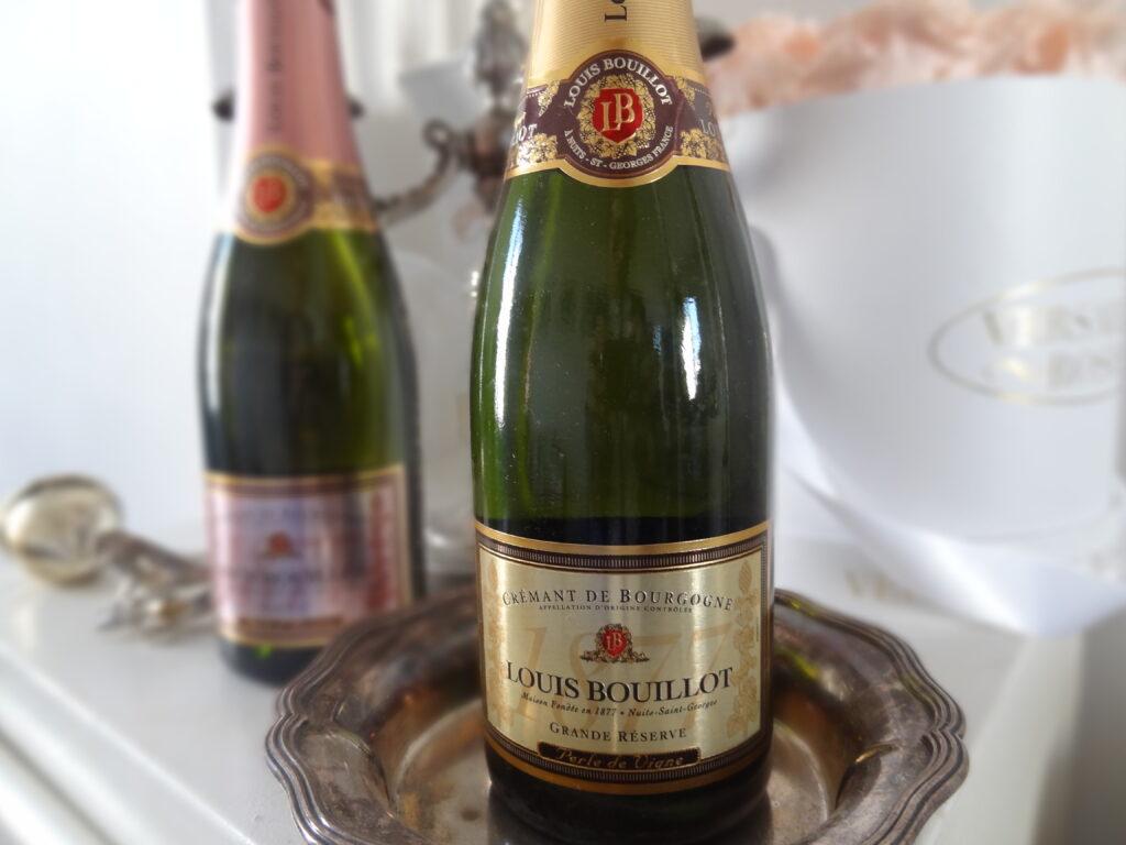 Louis Bouillot - Crémants de Bourgogne rosé et blanc - format demi-bouteille