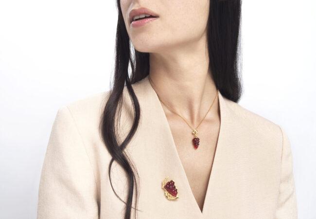 Lalique – les nouvelles collections de bijoux Vigne et Papillon
